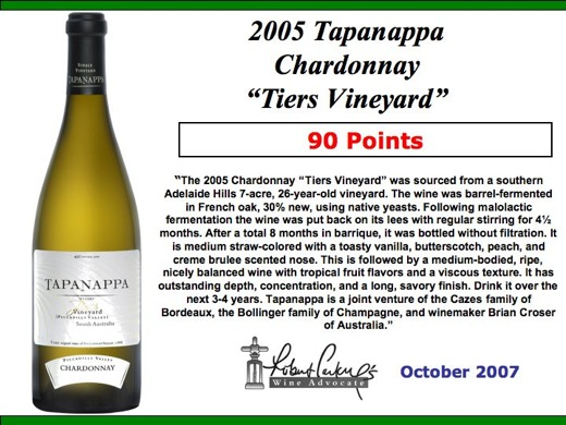 05 Tiers Wineadvocate October 2007.jpg