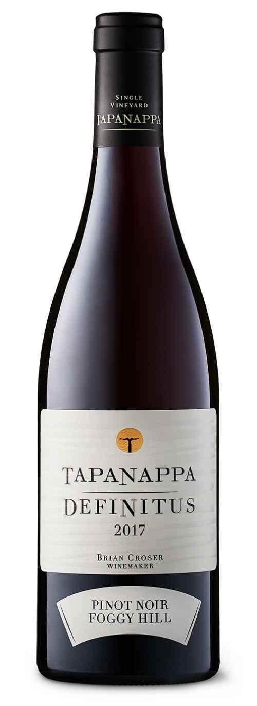 Tapanappa Foggy Hill Vineyard 2017 Definitus Pinot Noir bottleshot