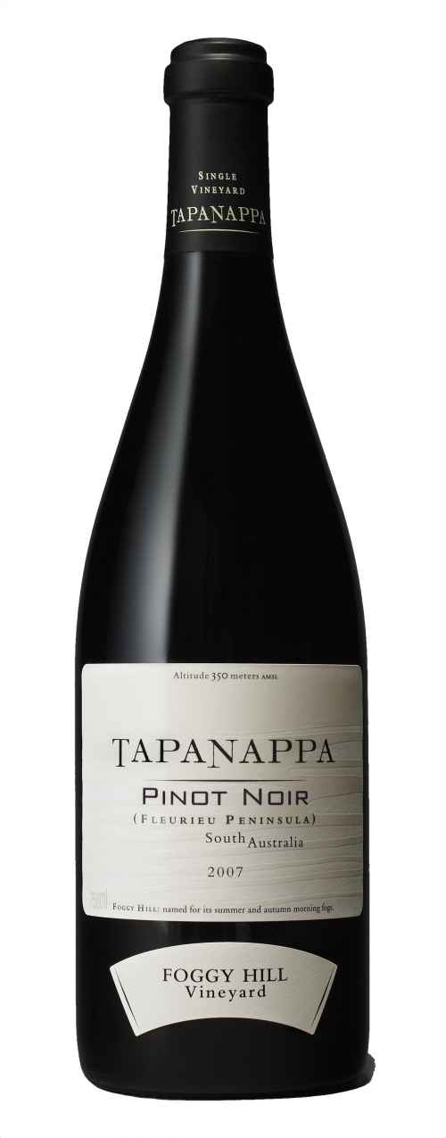 Tapanappa Foggy Hill Vineyard 2007 Pinot Noir bottleshot