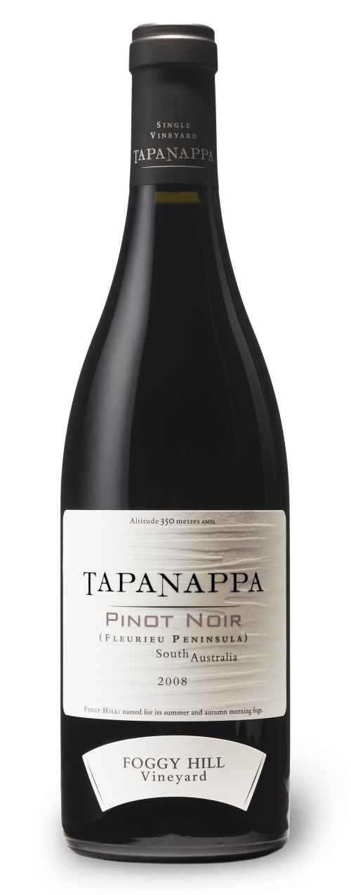 Tapanappa Foggy Hill Vineyard 2008 Pinot Noir bottleshot