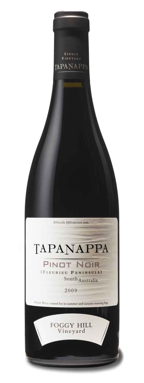 Tapanappa Foggy Hill Vineyard 2009 Pinot Noir bottleshot
