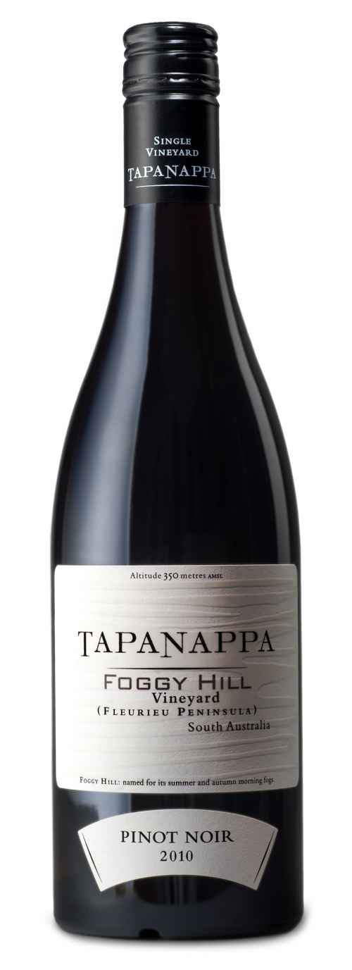 Tapanappa Foggy Hill Vineyard 2010 Pinot Noir bottleshot