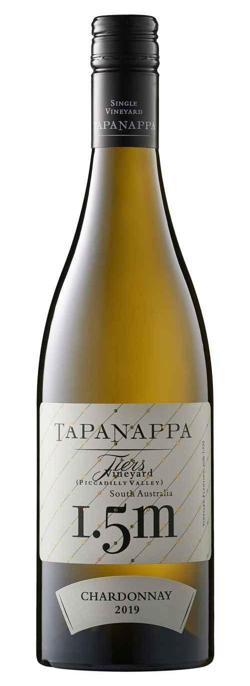 Tapanappa Tiers Vineyard 1.5m 2019 Chardonnay label