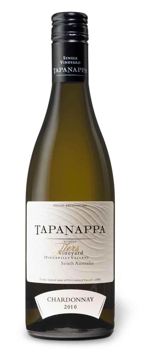 Tapanappa 2010 Tiers Vineyard Chardonnay bottleshot