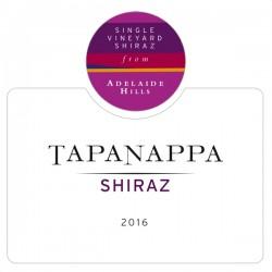 Tapanappa Adelaide Hills 2016 Shiraz label