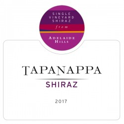 Tapanappa Adelaide Hills 2017 Shiraz label