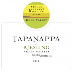 Tapanappa Eden Valley 2017 Riesling label