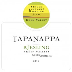 Tapanappa Eden Valley 2019 Riesling label