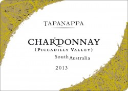 Tapanappa Piccadilly Valley 2013 Chardonnay label