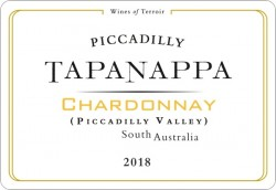 Tapanappa Piccadilly Valley 2018 Chardonnay Label