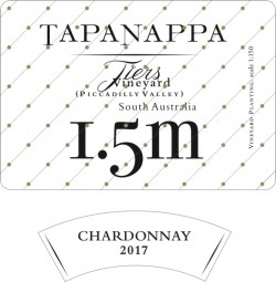 Tapanappa Tiers Vineyard 1.5m 2017 Chardonnay label