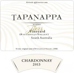 Tapanappa Tiers Vineyard 2013 Chardonnay label