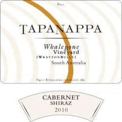 Tapanappa Whalebone Vineyard 2010 Cabernet Shiraz label