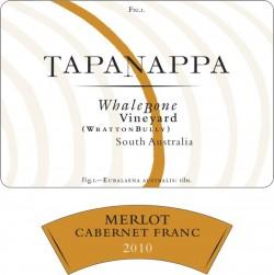 Tapanappa Whalebone Vineyard 2010 Merlot Cabernet Franc label