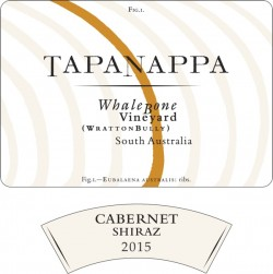 Tapanappa Whalebone Vineyard 2015 Cabernet Shiraz label