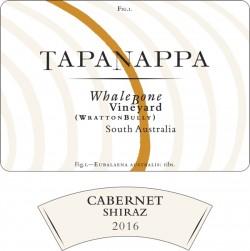 Tapanappa Whalebone Vineyard 2016 Cabernet Shiraz label