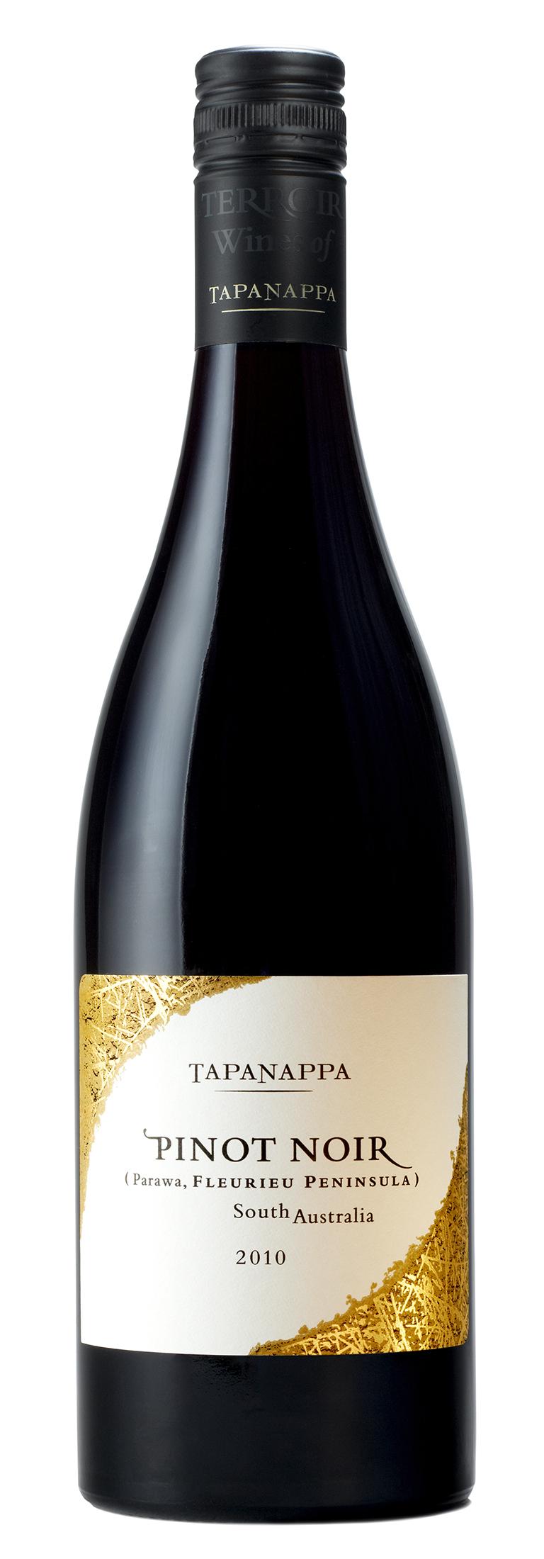 Tapanappa 2010 Fleurieu Peninsula Pinot Noir bottleshot