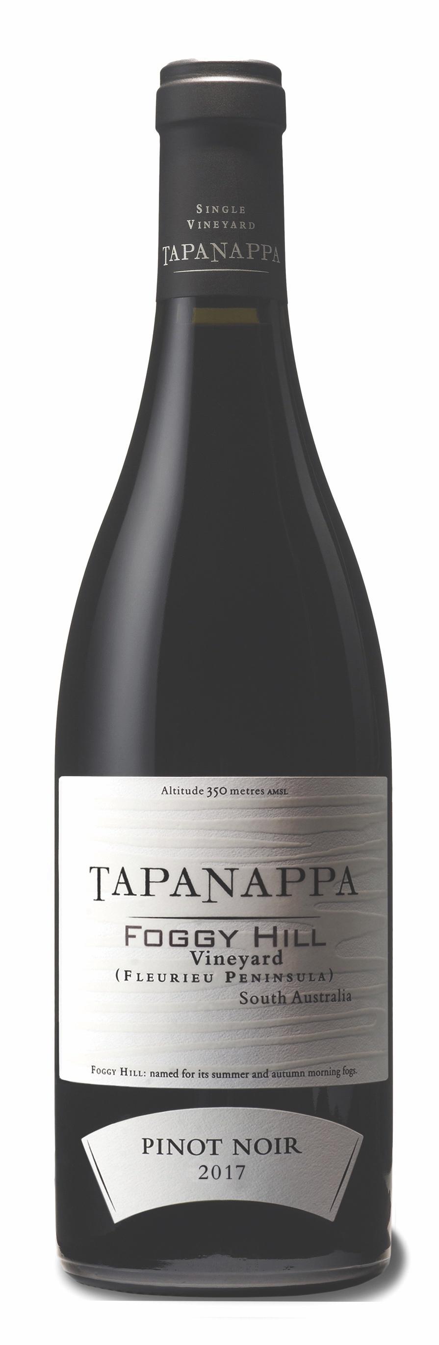 Tapanappa Foggy Hill Vineyard 2017 Pinot Noir bottle shot