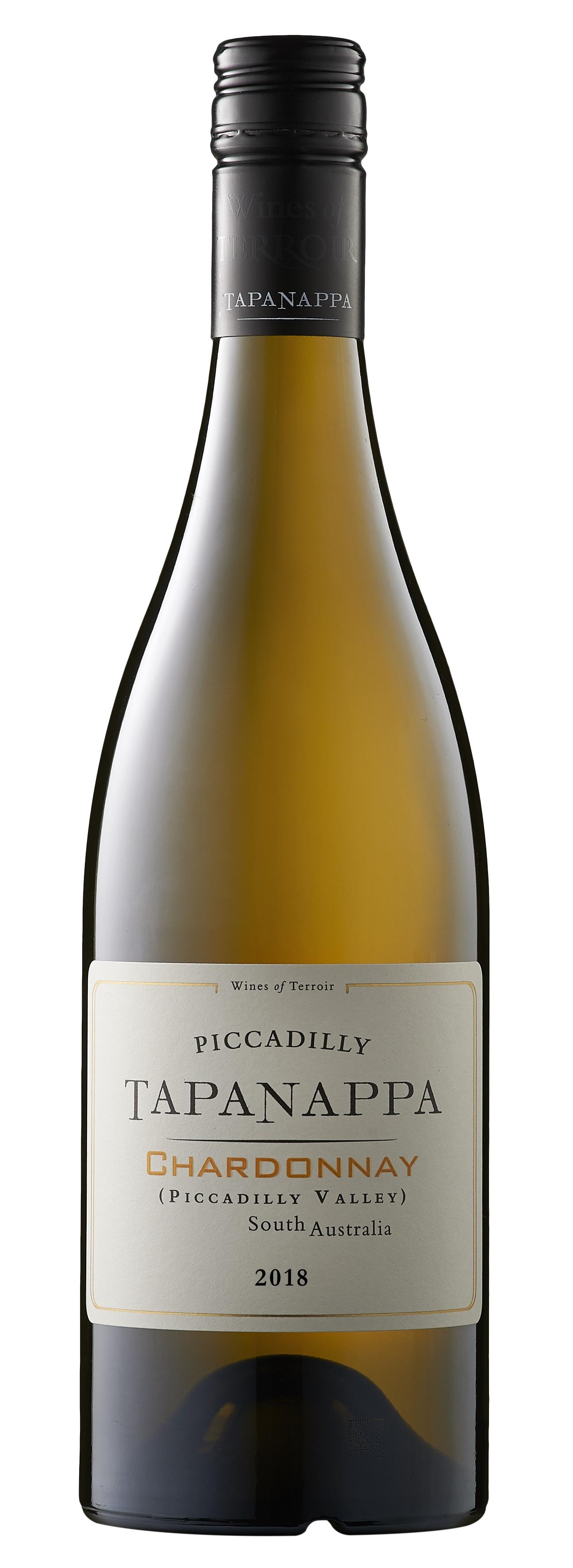 Tapanappa Piccadilly Valley 2018 Chardonnay Bottleshot