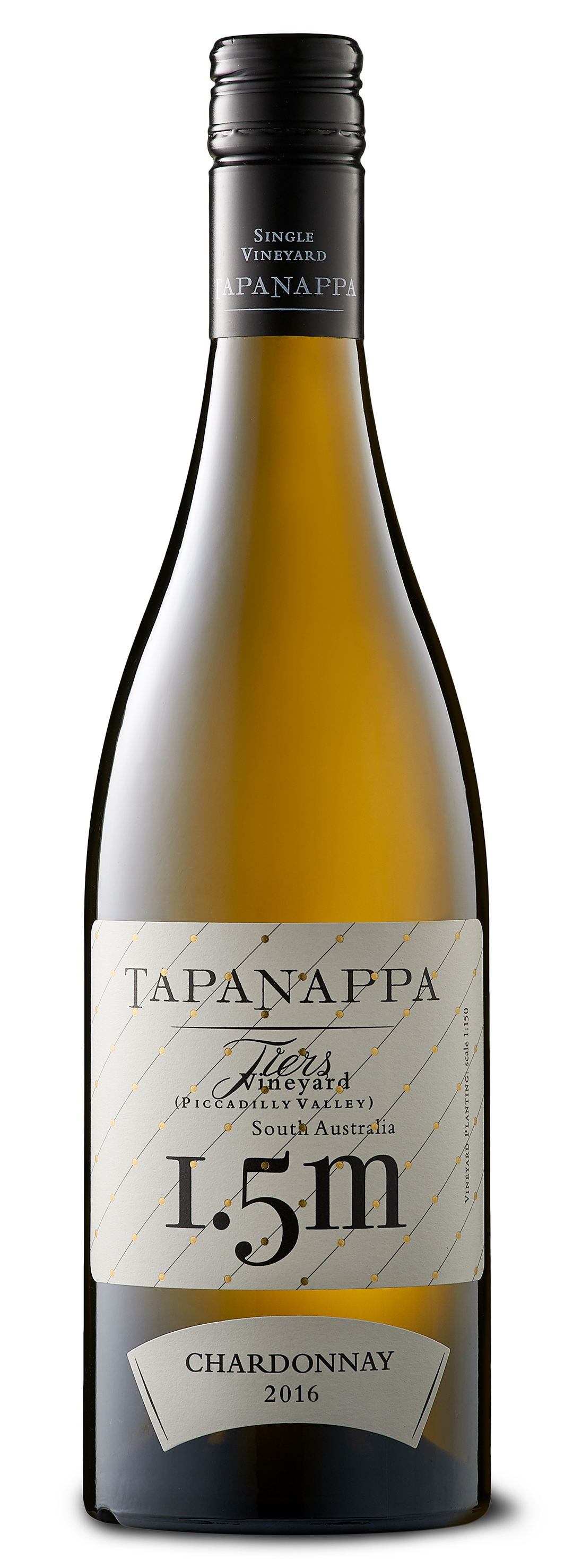 Tapanappa Tiers Vineyard 1.5m 2016 Chanrdonnay bottleshot