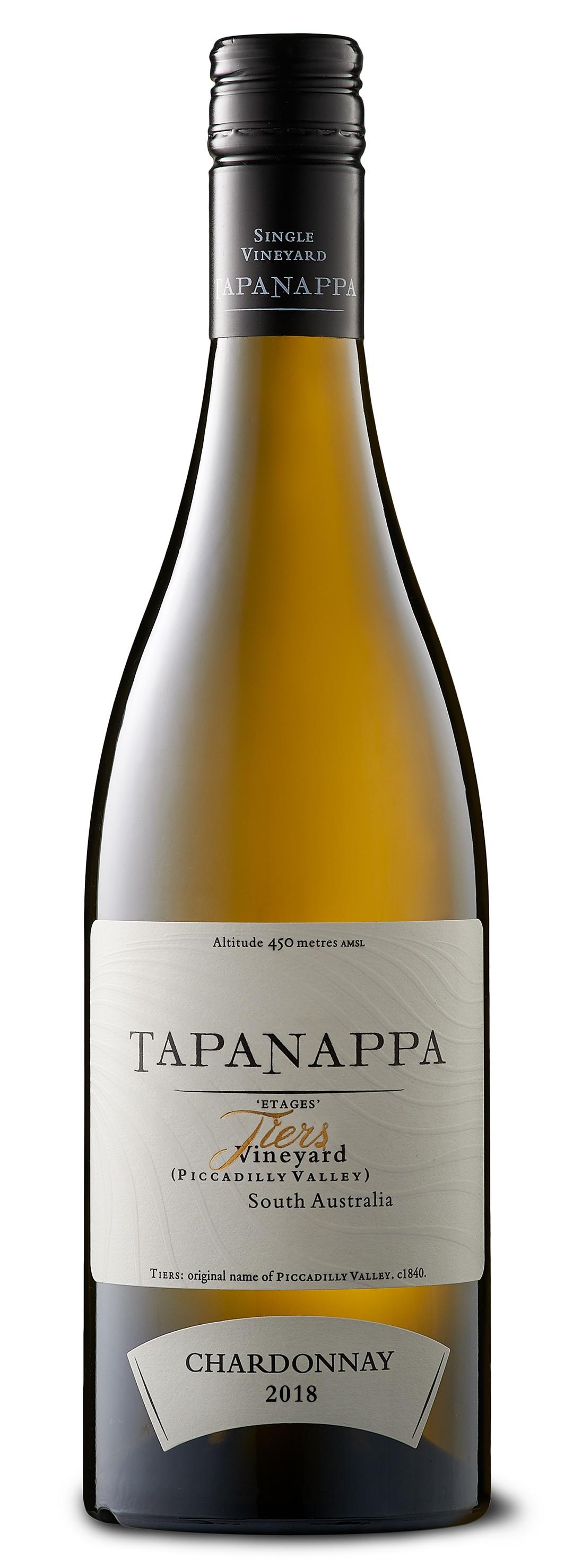 Tapanappa Tiers Vineyard 2018 Chardonnay Bottleshot