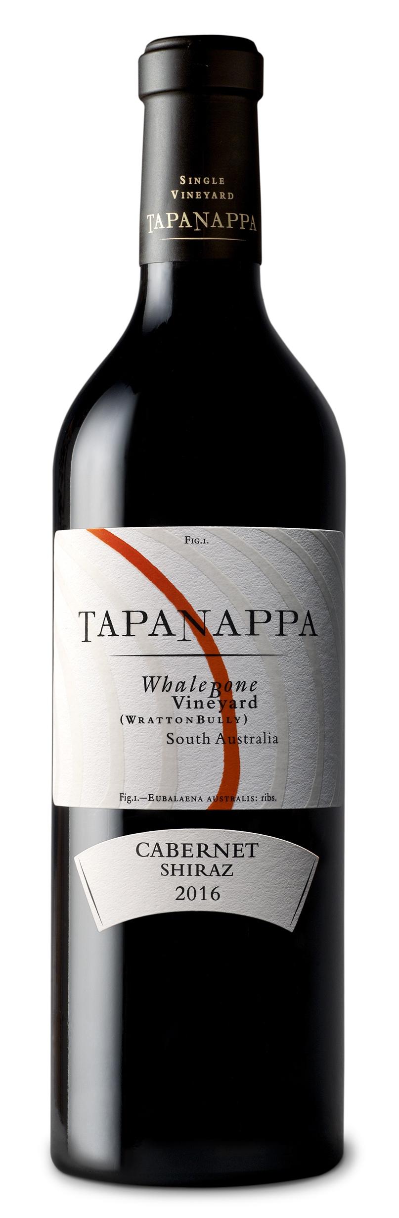 Tapanappa Whalebone Vineyard 2016 Cabernet Shiraz bottleshot