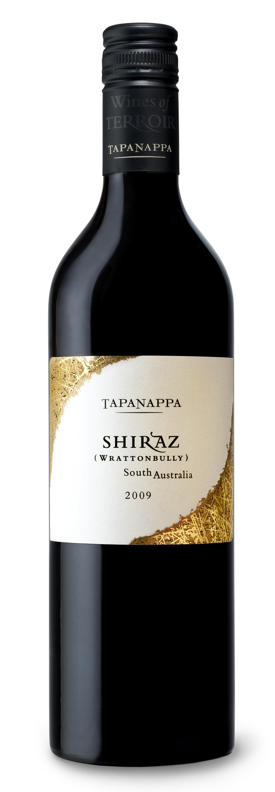 Tapanappa 2009 Wrattonbully Shiraz bottleshot