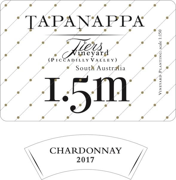 Tapanappa Tiers Vineyard 1.5m 2017 Chardonnay label